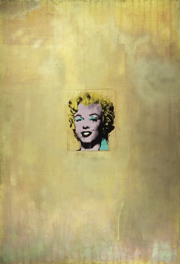 Gold Marilyn Monroe, 1962
