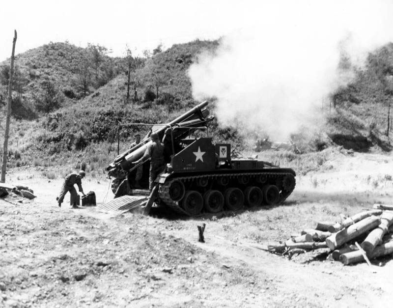 Korean War Self Propelled Gun
